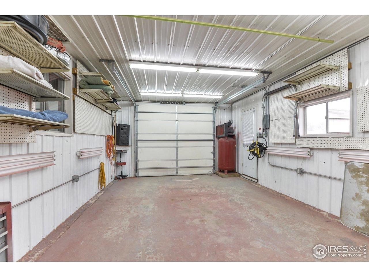 Large garage