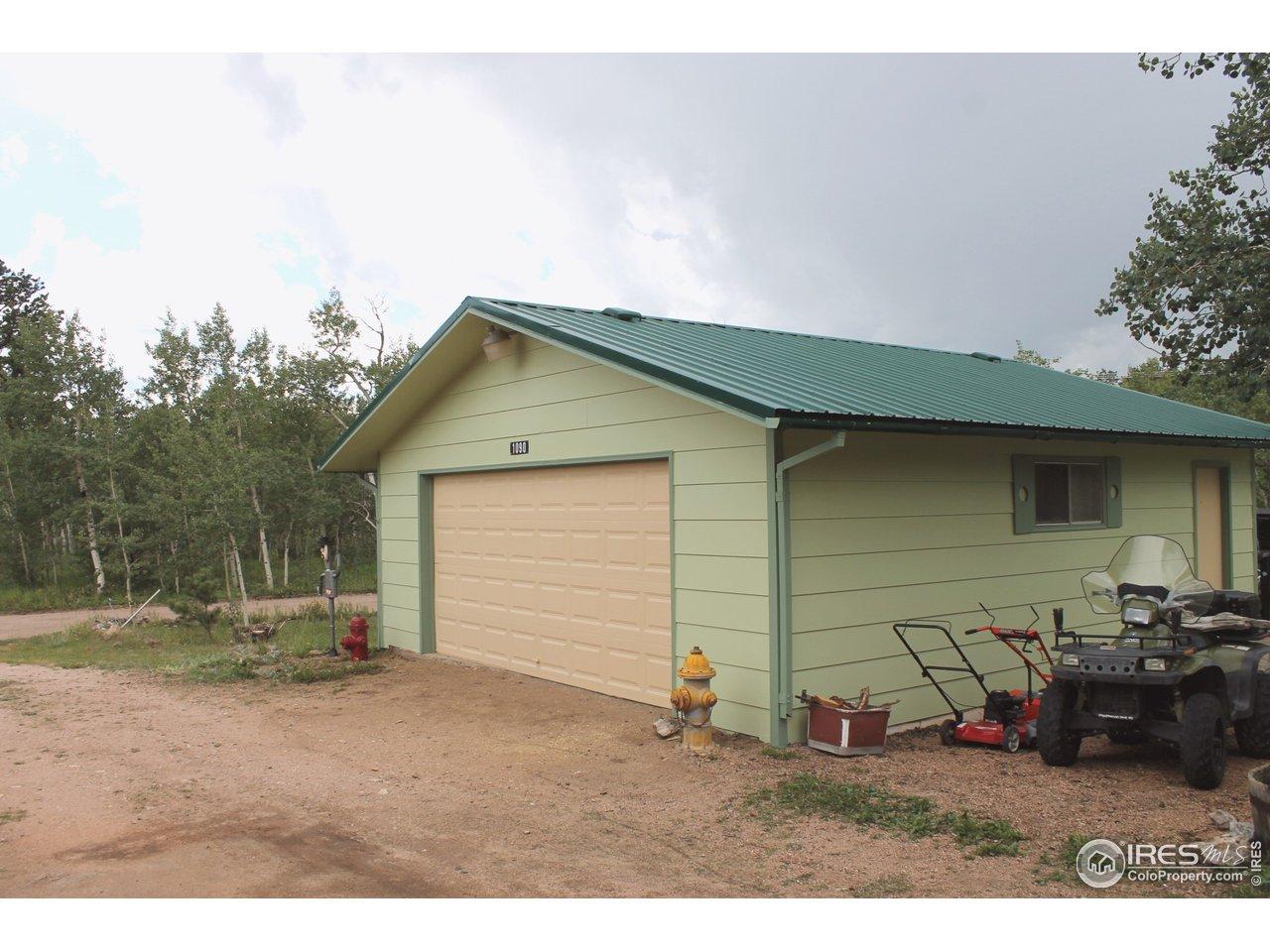 New Roof - Garage