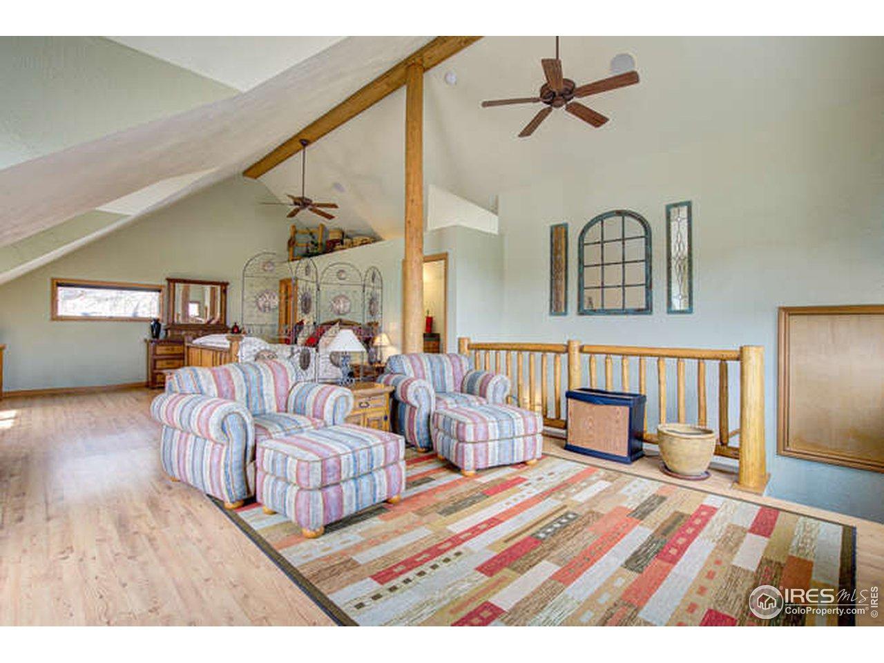 Cozy Living Room - Original Home is on Main Floor