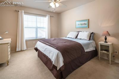 Upstairs bedroom with walk-in closet