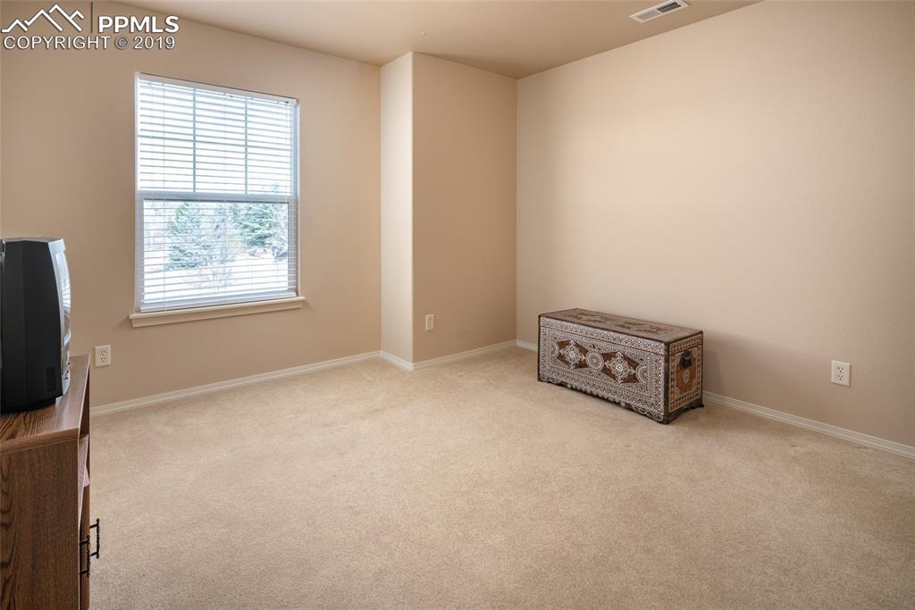 Upper level bedroom with walk-in closet