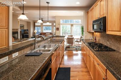 Open Concept Kitchen to Living Room