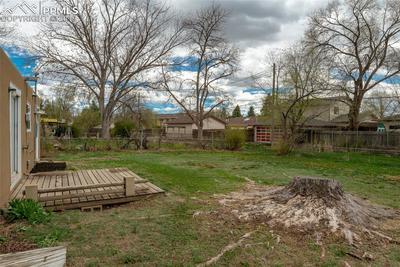 Spacious backyard; Fully fenced