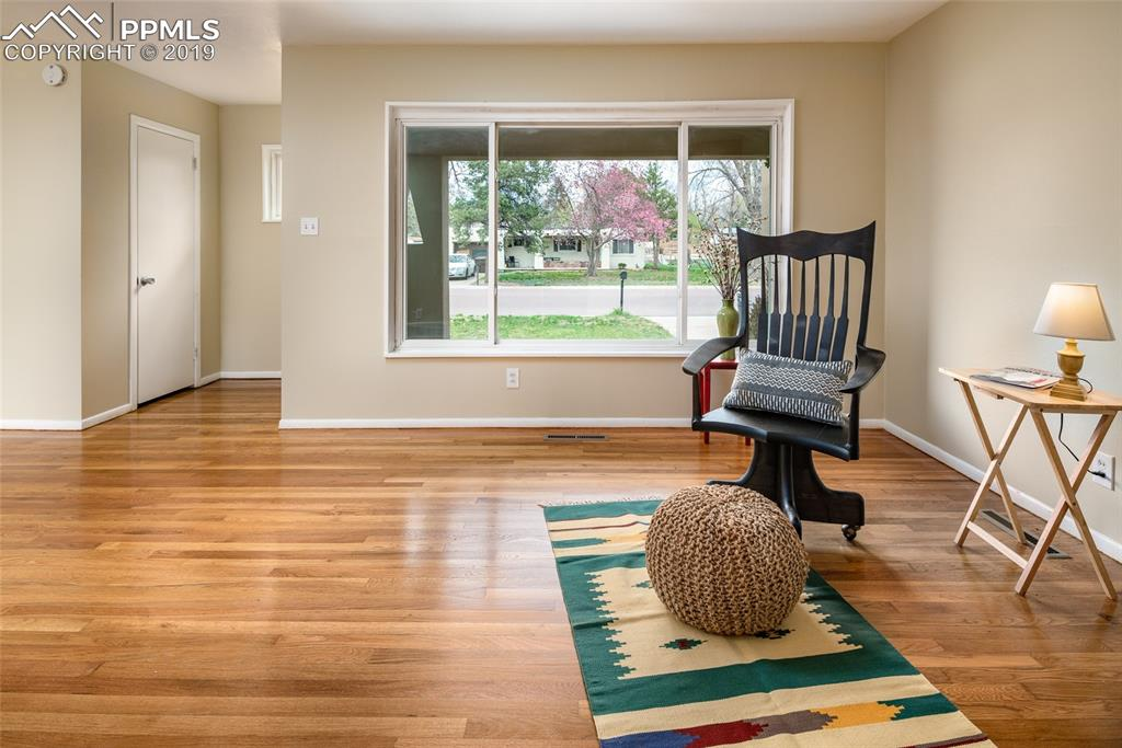 Picture perfect large window; Natural light abounds in this home!