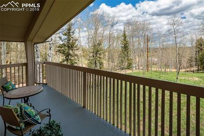 Enjoy the views from the deck in your master bedroom!