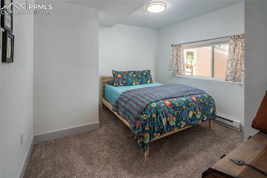 Basement bedroom great for guests or kids