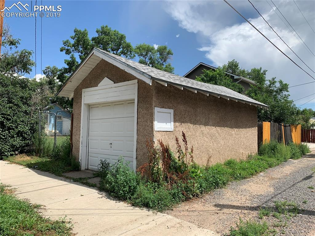 Great opportunity for a she shed, man cave or lots of storage!