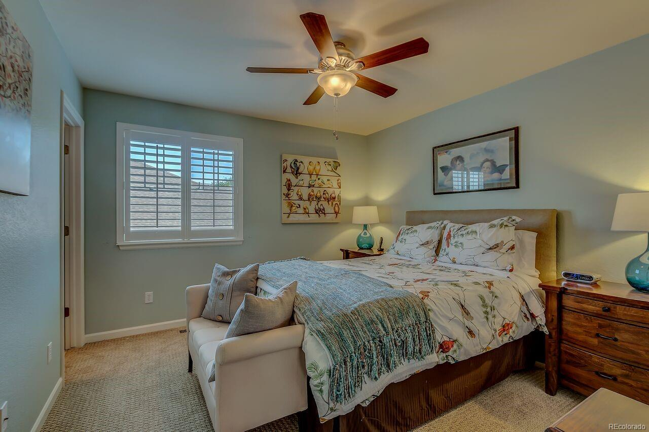 3rd bedroom with attached private bathroom