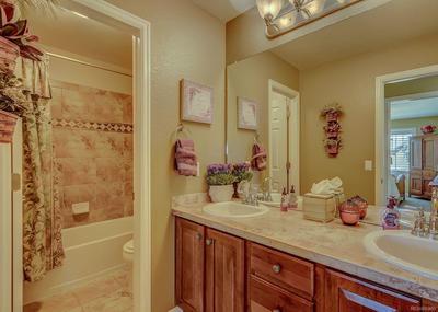 3rd full bath on upper level