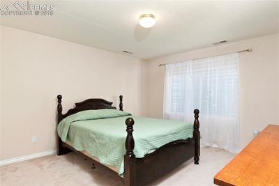 Basement bedroom #3.