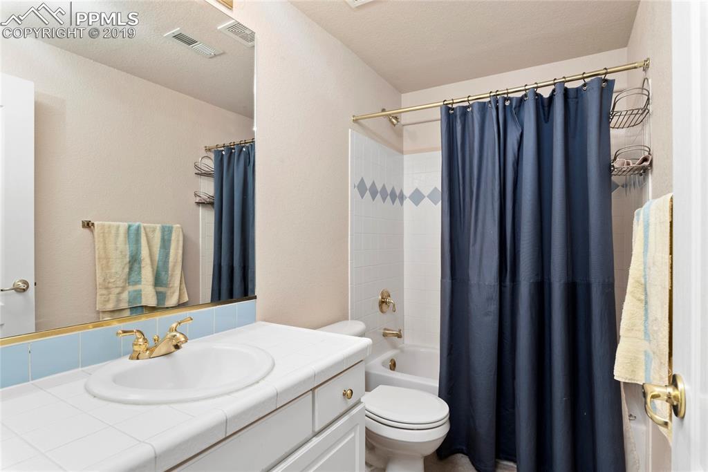 Full basement bath.
