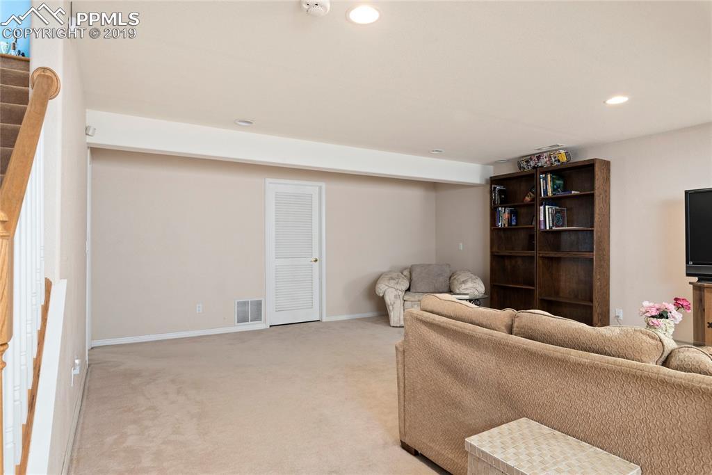 Your family will enjoy the oversized basement family room!