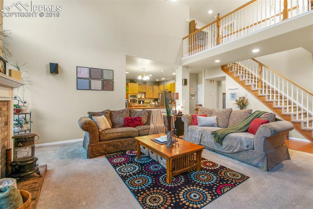 Complete open concept perfect for entertaining