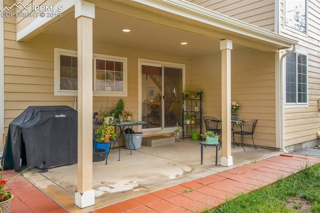 Enjoy evenings on your covered patio