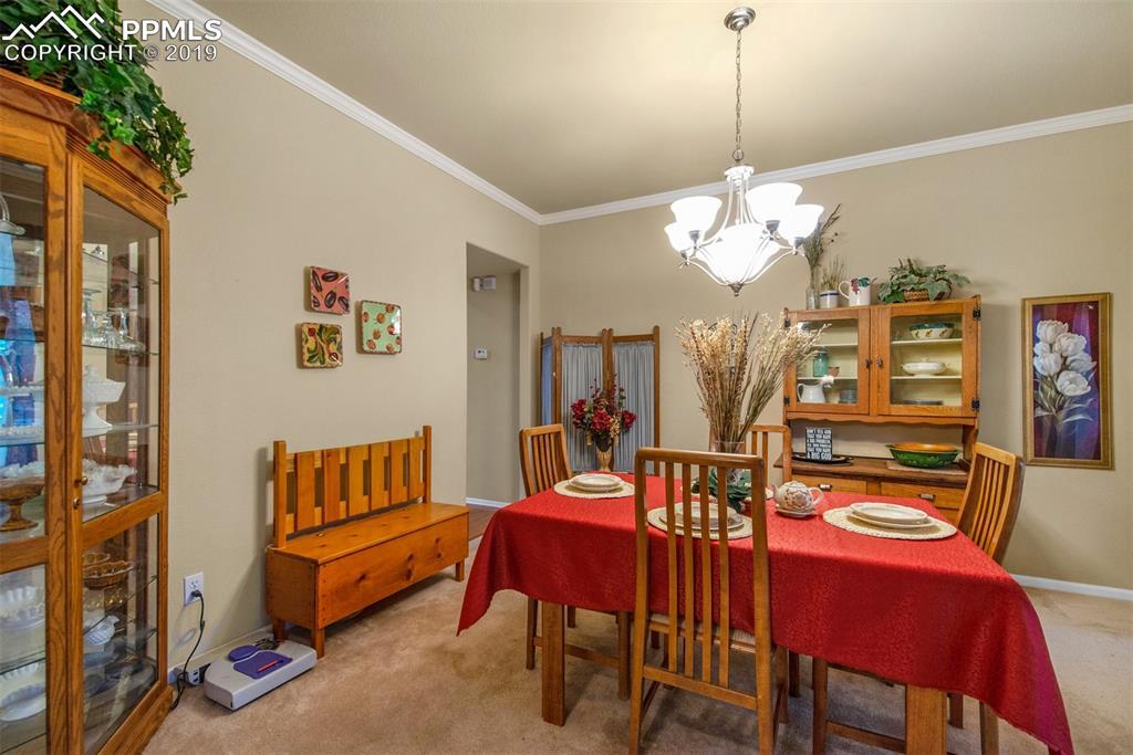 Wonderful formal dining room