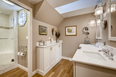 and master bath