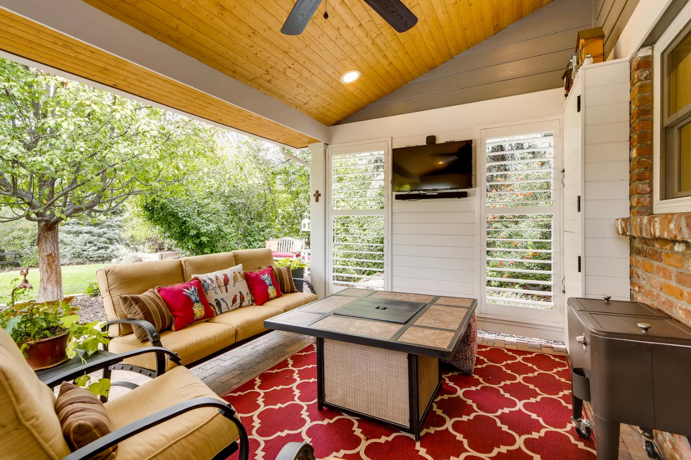 Enjoy the Colorado outdoors on your back patio