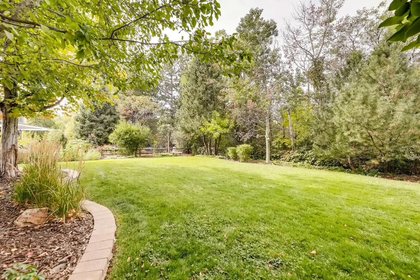 perfectly manicured & professional landscaped