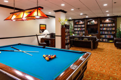 LIBRARY &  BILLIARDS ROOM