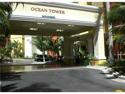 OCEAN TOWER VALET PARKING