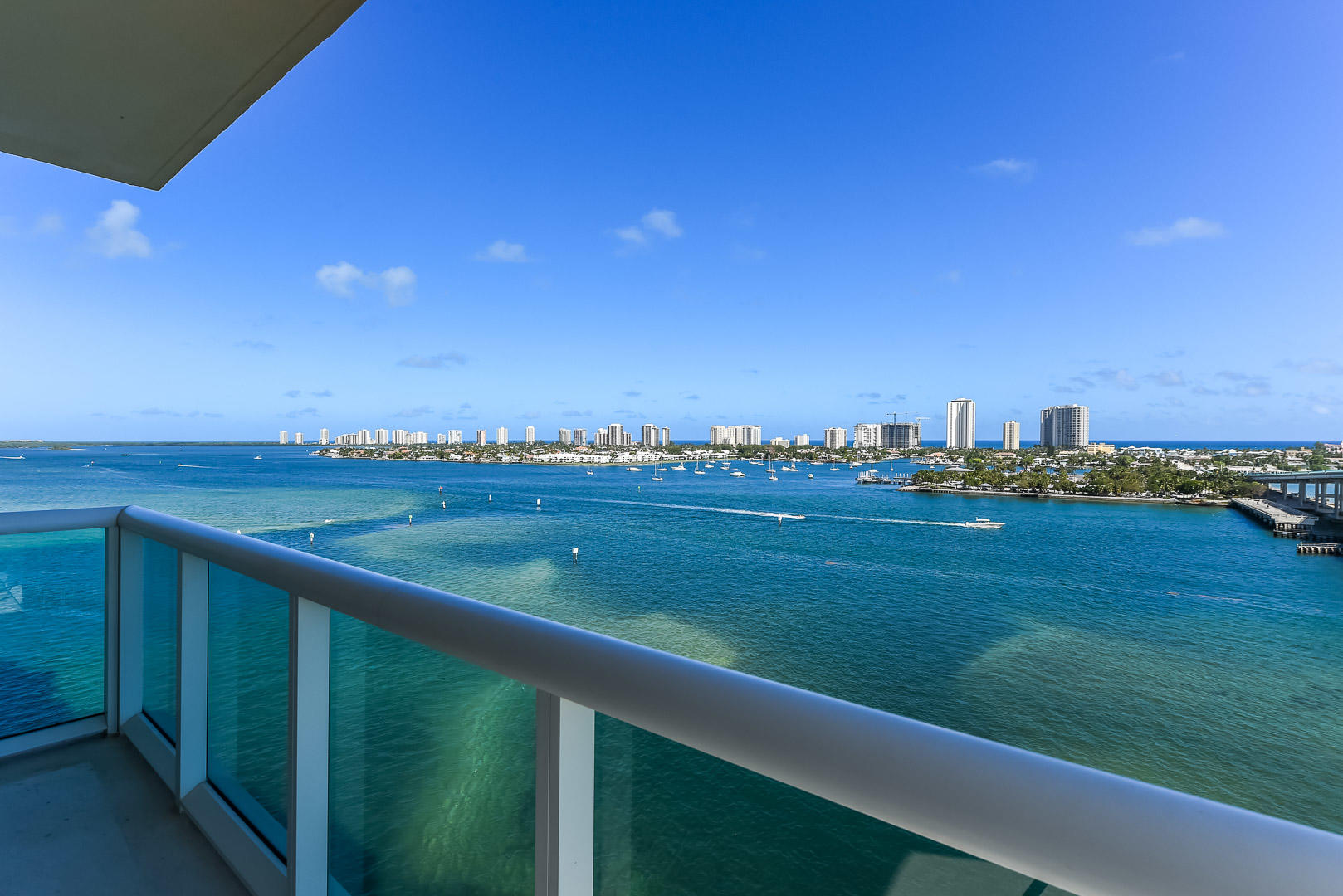 VIEWS EAST TO SINGER ISLAND SKYLINE
