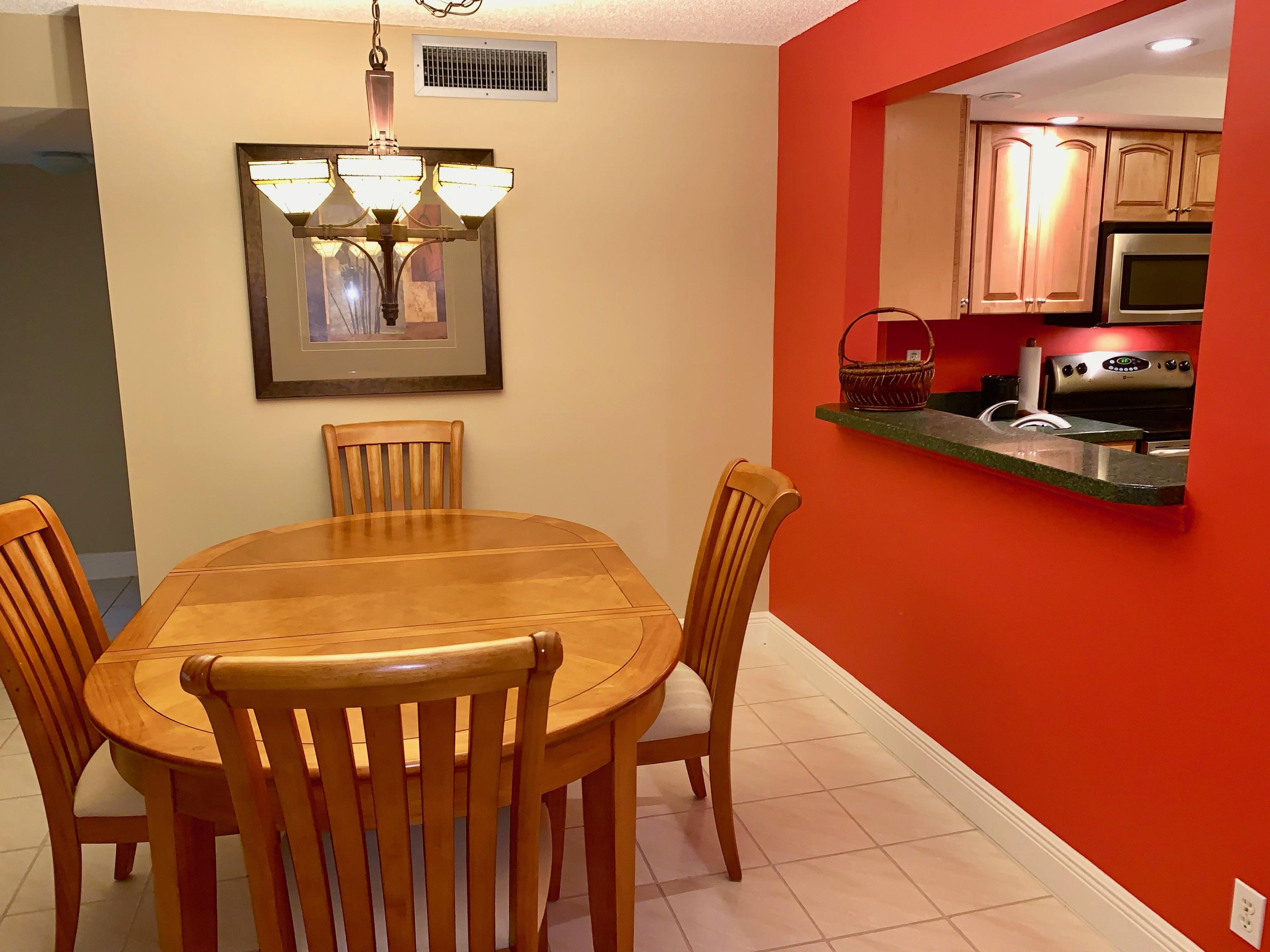 DINING AREA OPEN TO KITCHEN