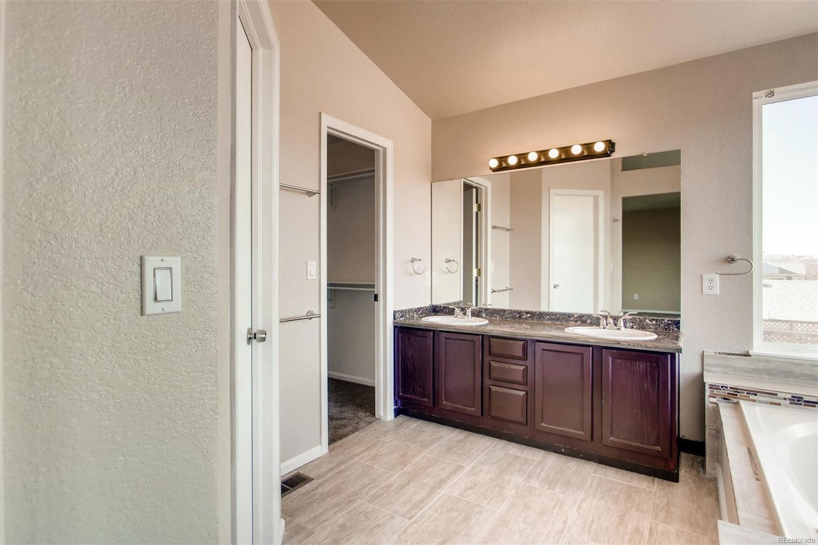 Vanity in the Master Bathroom (Upper Level)