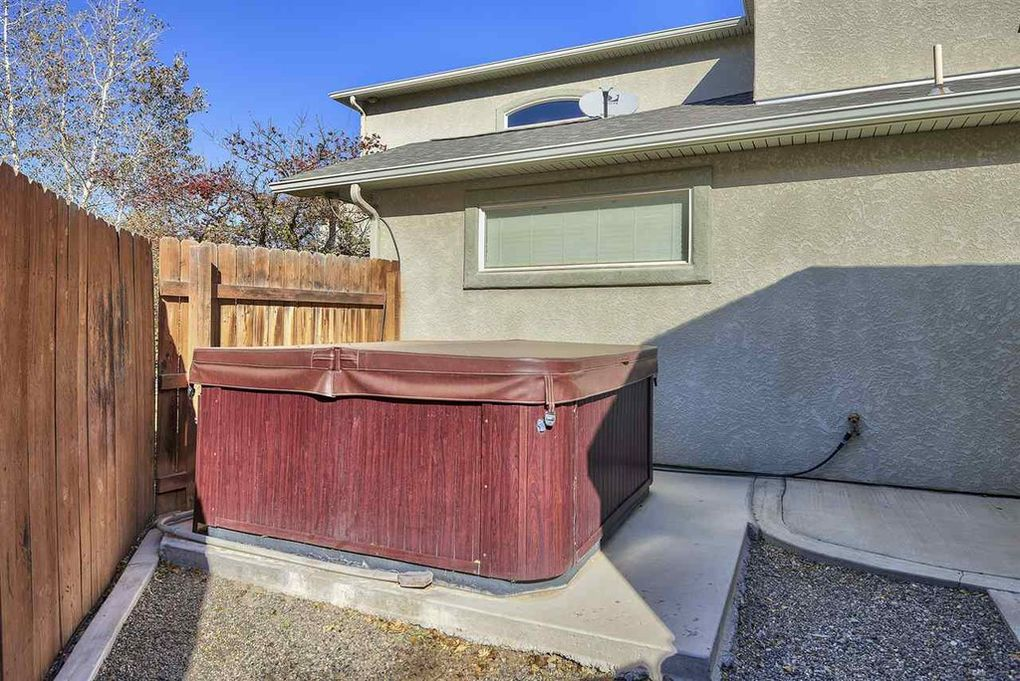 Hot Tub located between home and shed