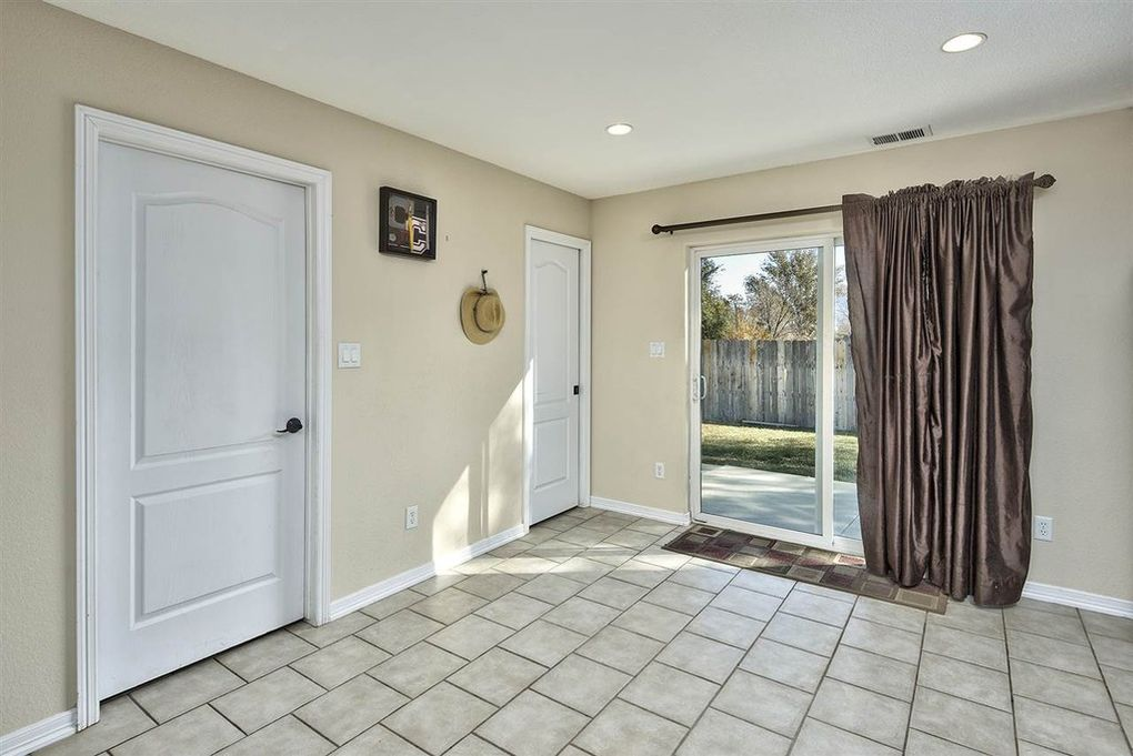 Dining area with access to the back yard patio