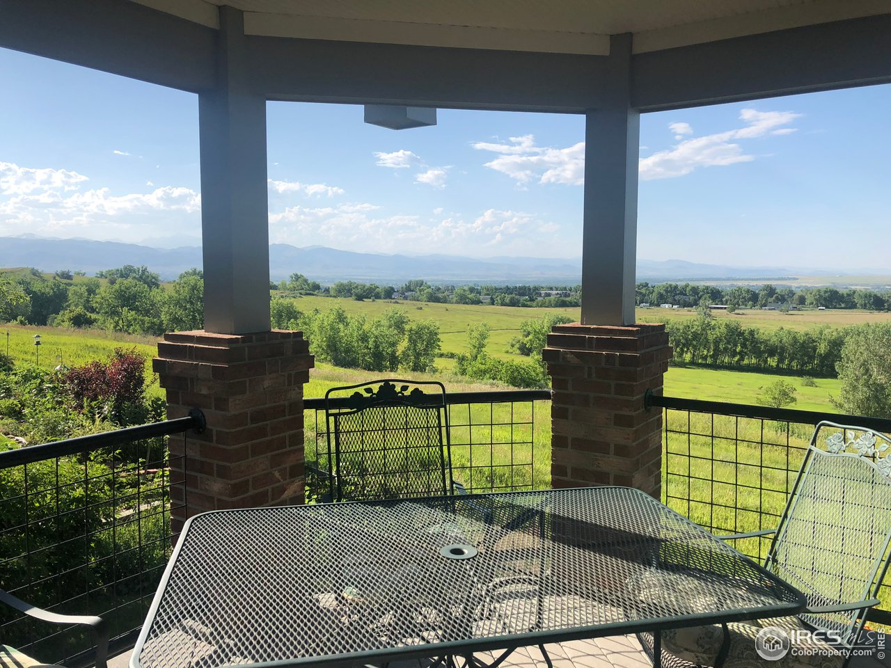 Views from covered deck