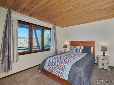 Lower level bedroom #2 w/ water views