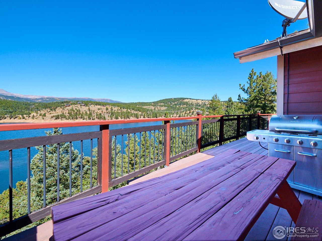1 of 3 decks to enjoy Colorado sunsets