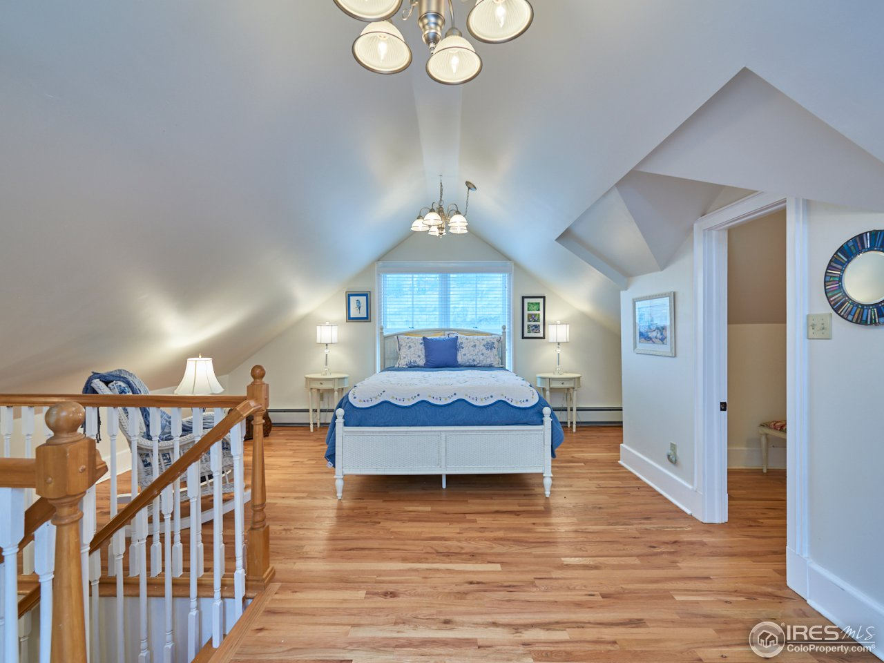 Upper level master bedroom