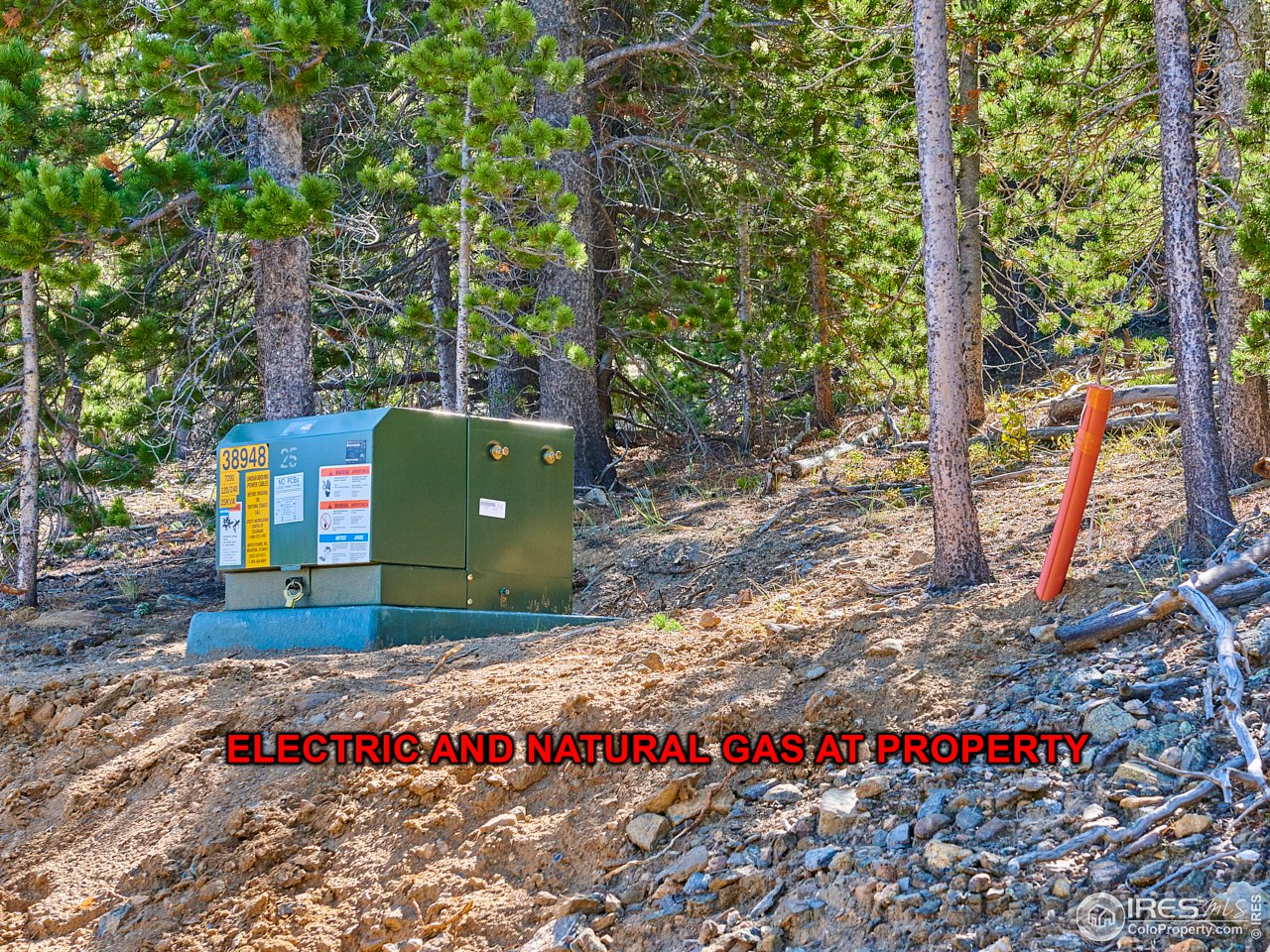 Electric & Natural Gas within 100' of Property