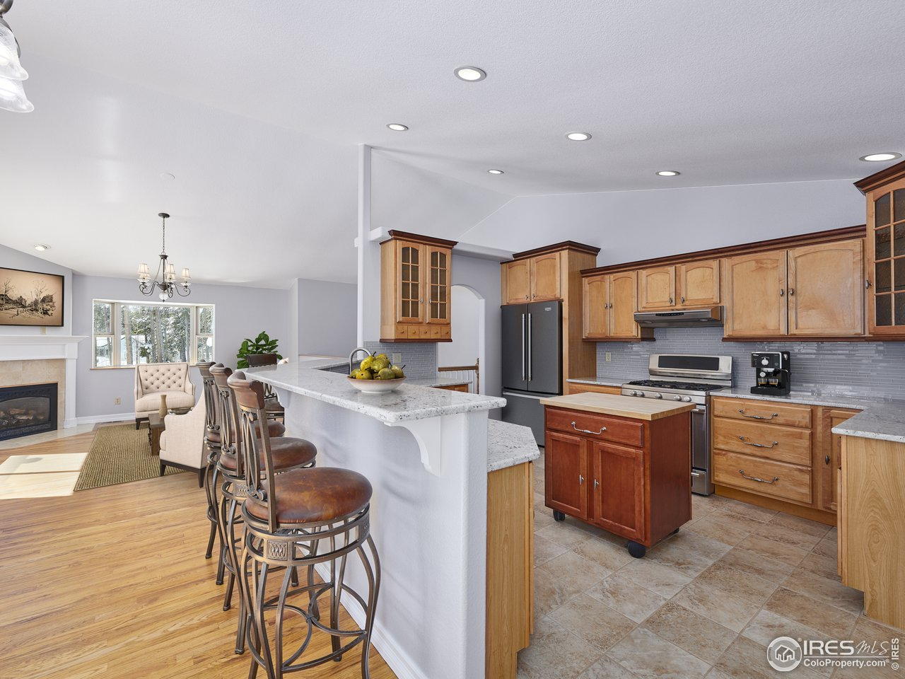 Updated kitchen and hardwood floors throughout