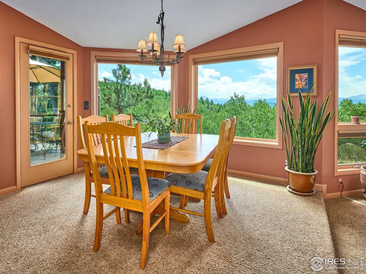 Dining area w/ views
