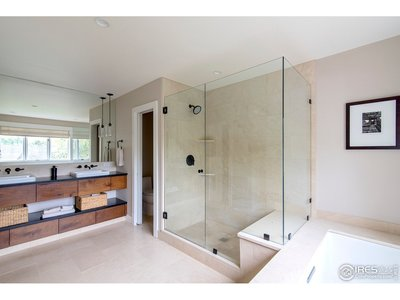 Beautifully renovated master bath