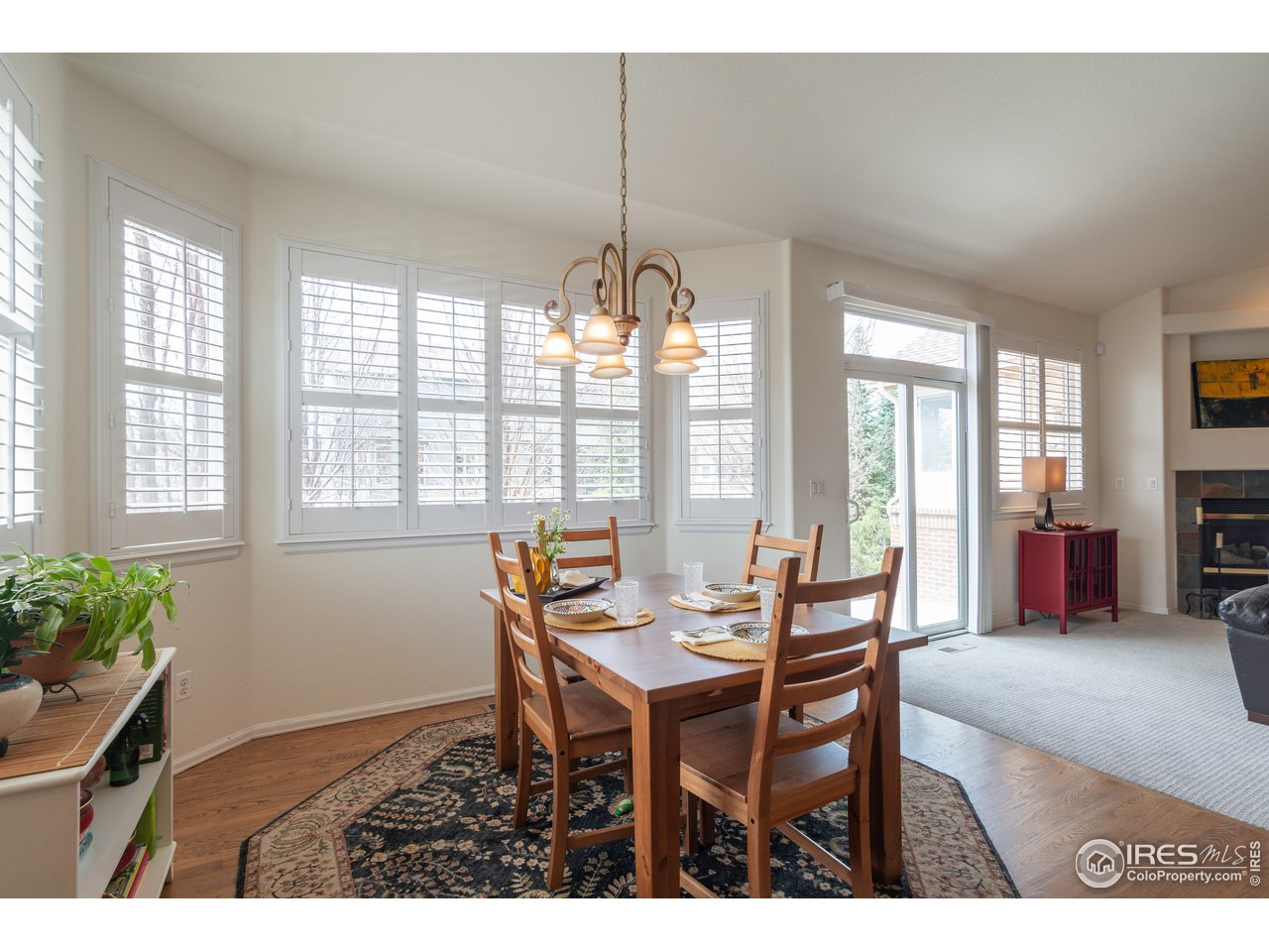 Dining Room is Generous and has so many nice windows!