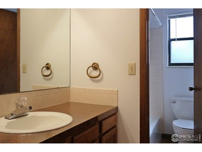 Separate Tub & Commode Space in Bath