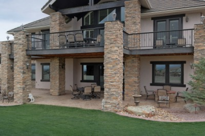 Inviting Patio w/Fire Pit & Space for Hot Tub