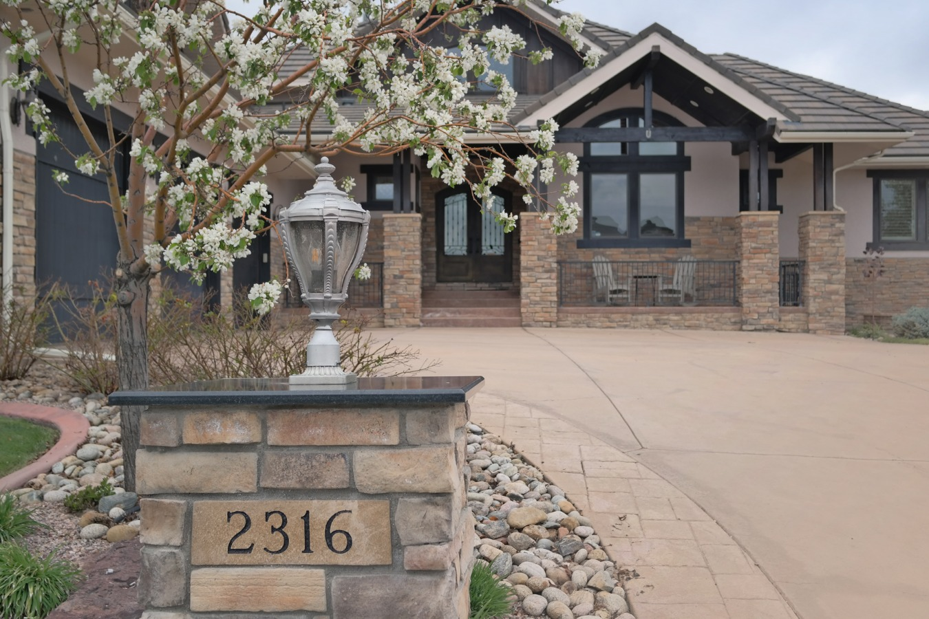 Distinctive & Custom, Yet Comfortable Home