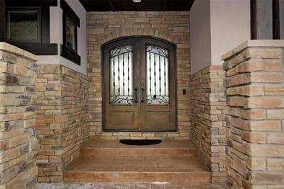 Unique Metal & Glass Entry Doors