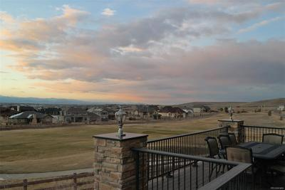 View of Golf Course & Mountains from Deck