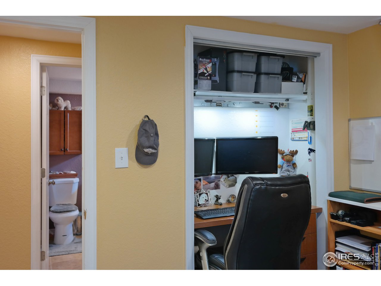 Bedroom 4 or Study/Office w/Built-In Desk