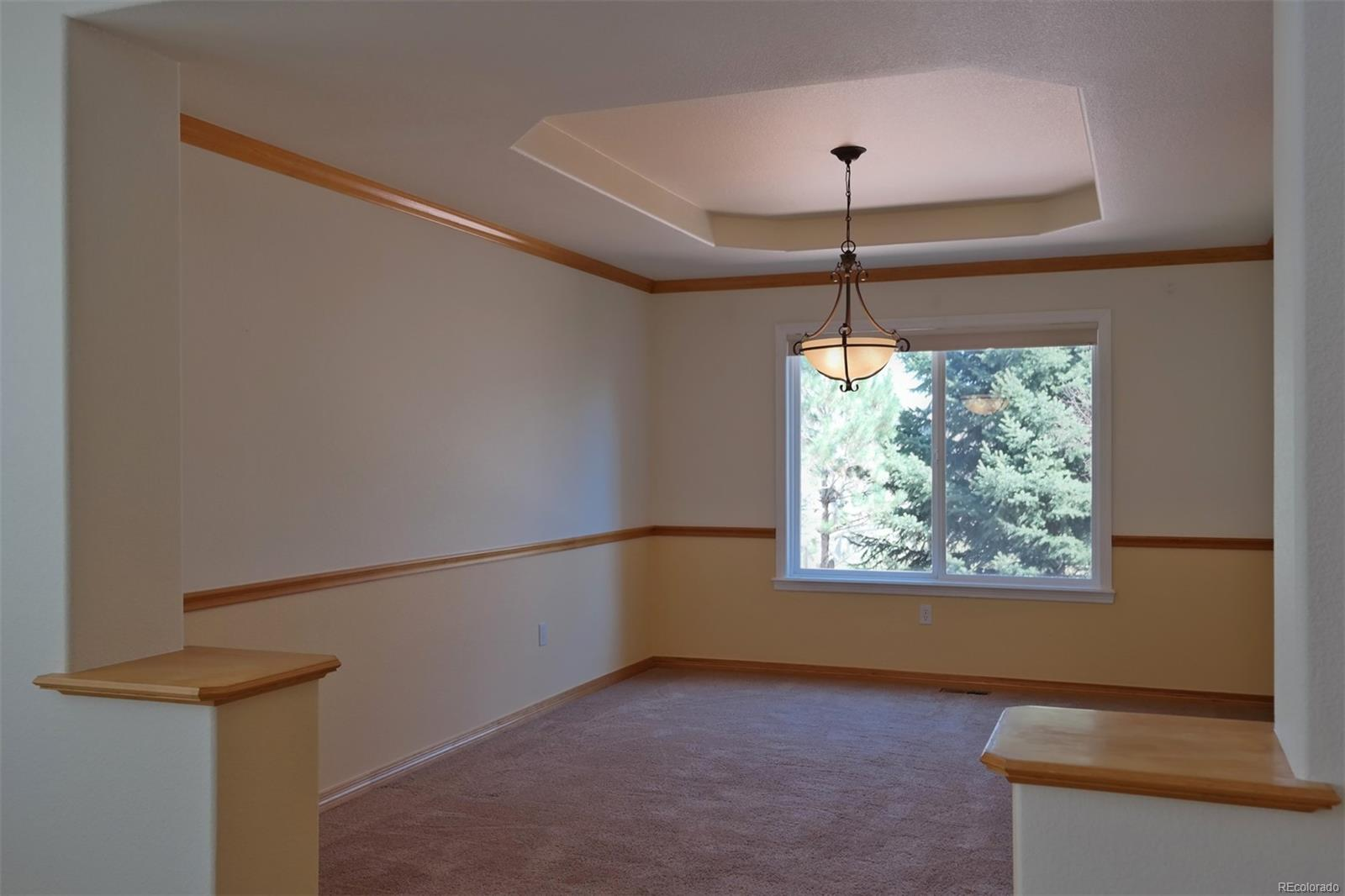 Formal Dining Room w/Tray Ceiling