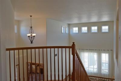 View of Living Room & Study from Upper Level