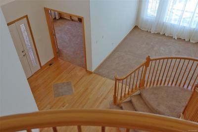 Solid Oak Floor w/Slate Tile Accents