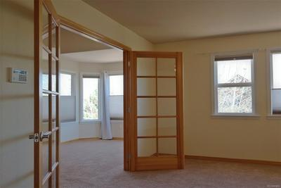 Double French Doors to Master Bedroom Area