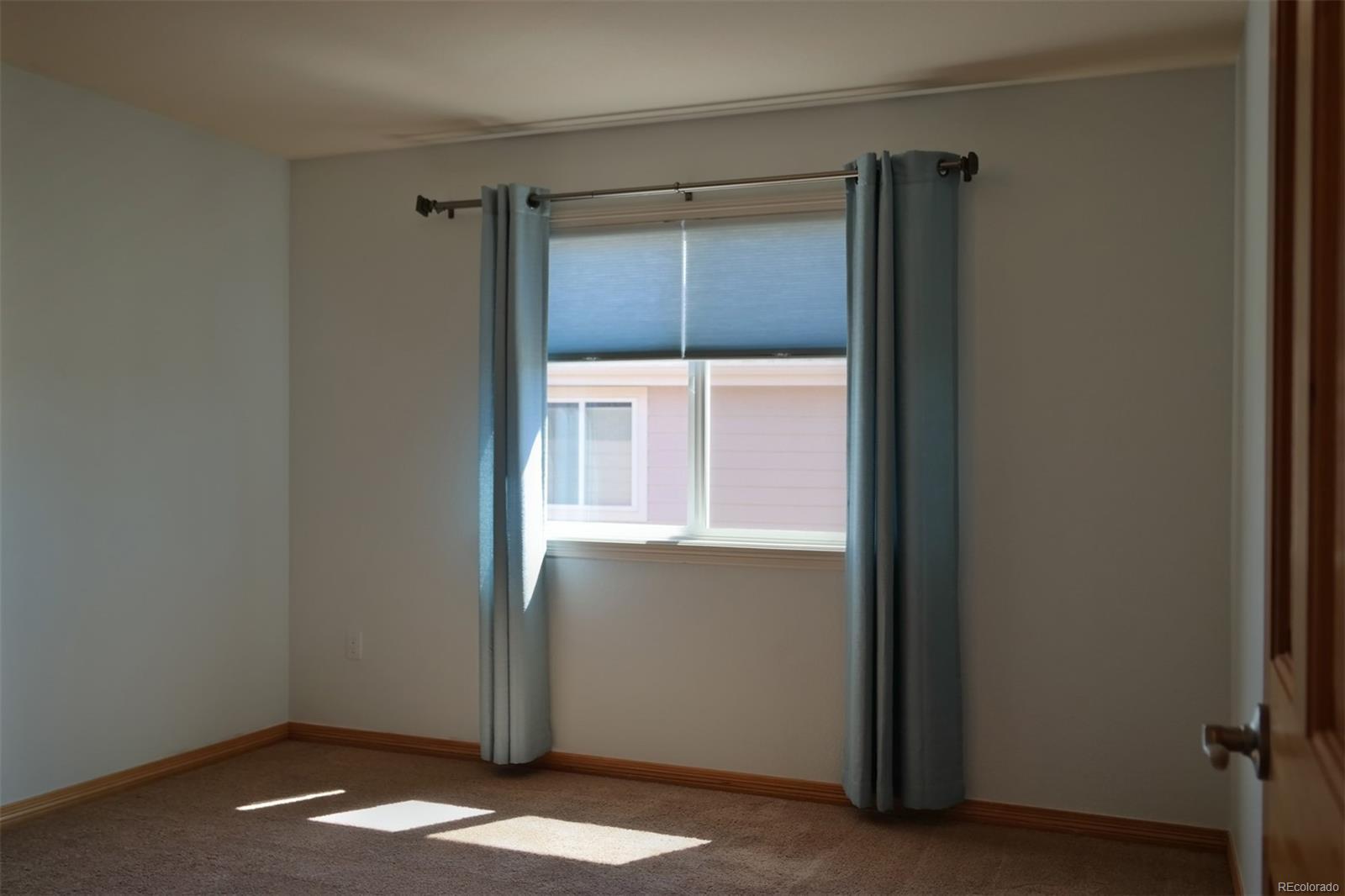 Bedroom #2 has Blinds & Draperies