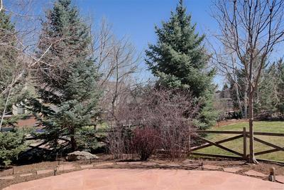 Partially Fenced Yard & Mature Landscaping